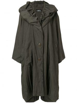 Płaszcz przeciwdeszczowy - zielony Issey Miyake Pre-owned