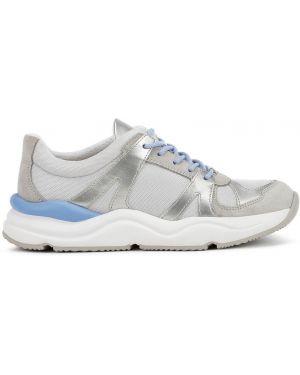 Buty na obcasie na pięcie zamszowe Geox