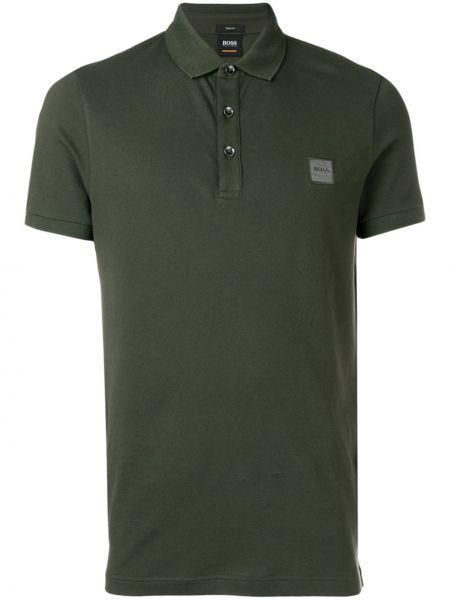 Koszula krótkie z krótkim rękawem klasyczna z logo Boss