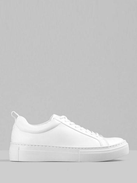 Кожаные полуботинки - белые Vagabond