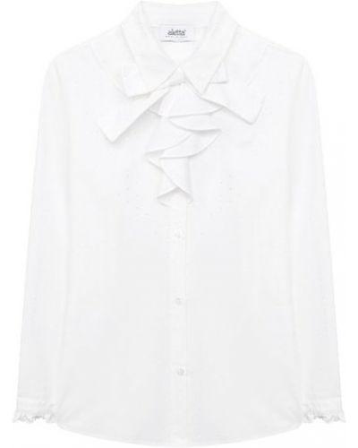 Белая блуза из вискозы Aletta