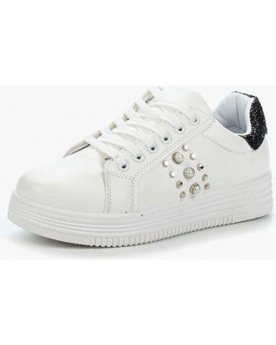Белые высокие кроссовки Saivvila