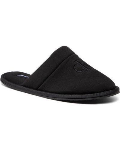 Kapcie - czarne Calvin Klein Jeans