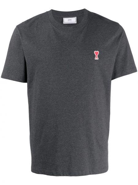 T-shirt bawełniany krótki rękaw Ami