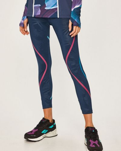 Темно-синие брюки на резинке с поясом с открытым носком узкого кроя Desigual Sport