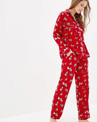 Пижамная красная пижама Pjmood