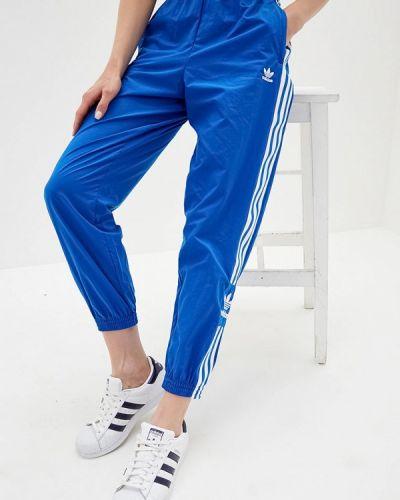 Спортивные брюки синие Adidas Originals