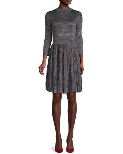 Плиссированное с рукавами свободное платье Ted Baker London