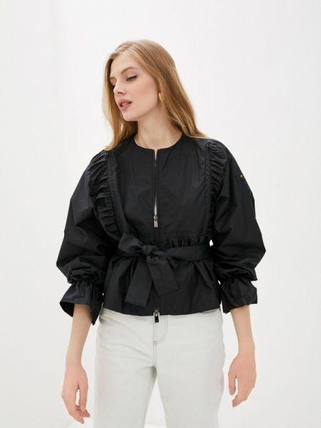 Облегченная черная куртка Tatras