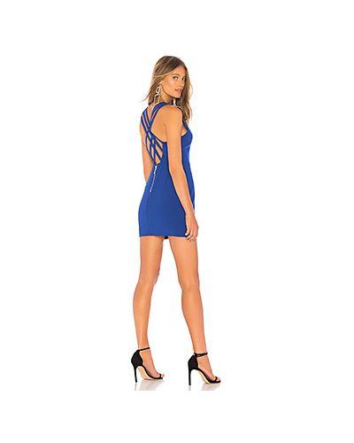 Платье мини с поясом с вырезом Nbd