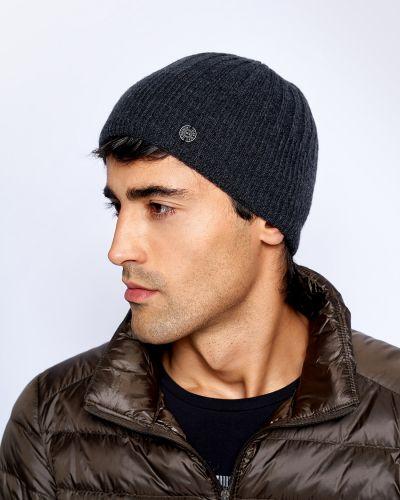 Серая шерстяная шапка с подкладкой Baon