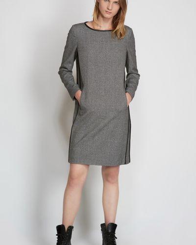 Платье из вискозы - серое Vassa&co