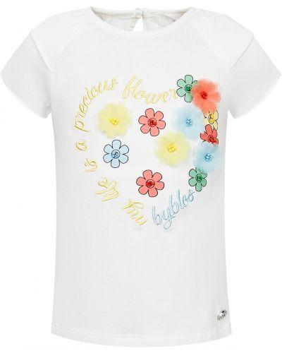 Хлопковая белая футболка Byblos