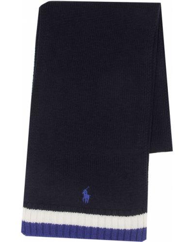 Синий шарф Ralph Lauren