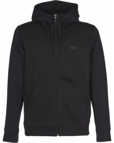Czarny sweter z kapturem Hugo Boss