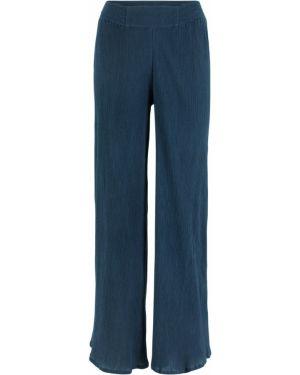 Свободные брюки из крепа Bonprix