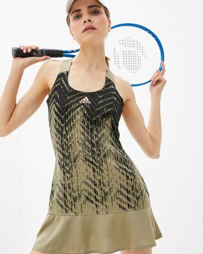 Спортивное платье - хаки Adidas