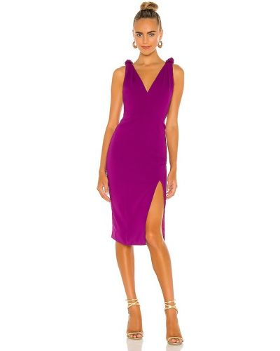 Фиолетовое повседневное вечернее платье с подкладкой Jay Godfrey