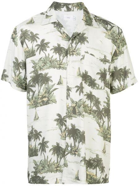 Koszula krótkie z krótkim rękawem prosto z kołnierzem Onia