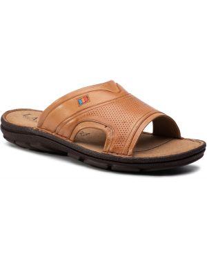 Sandały beżowy Lasocki For Men
