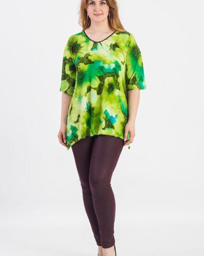 Блузка зеленый длинная Lacywear