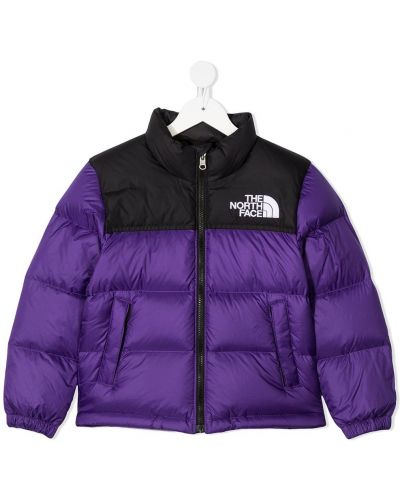 Пуховая с рукавами стеганая куртка The North Face