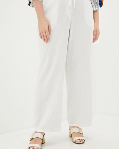Прямые белые брюки Evans