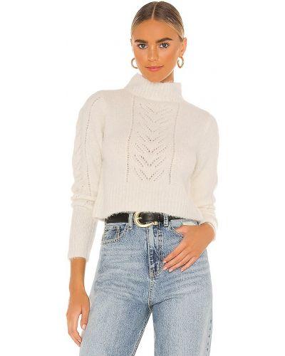 Акриловый бежевый свитер винтажный Line & Dot