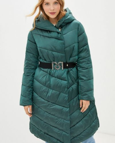 Зеленая теплая куртка Rinascimento