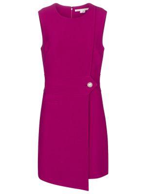 Фиолетовая куртка из вискозы Veronica Beard