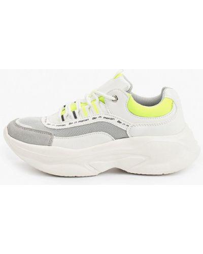 Кожаные белые кроссовки Escan