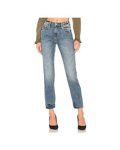 Прямые джинсы с мехом польские Frame