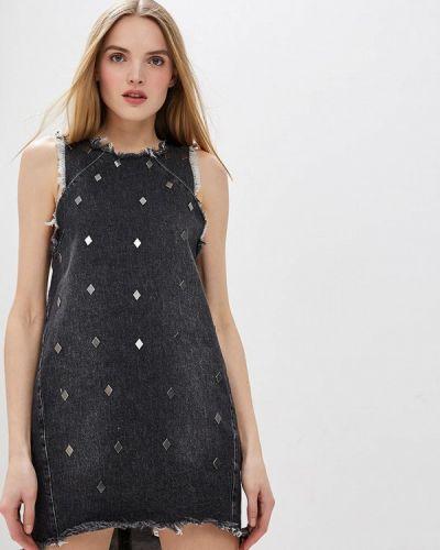 Джинсовое платье - серое One Teaspoon