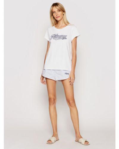 Biała piżama Tommy Hilfiger