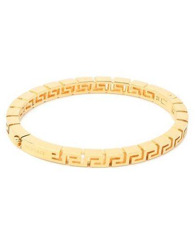 Золотой браслет золотой Versace