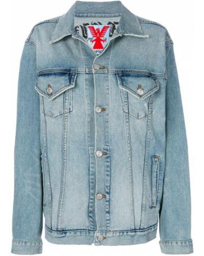 Синяя джинсовая куртка Adaptation