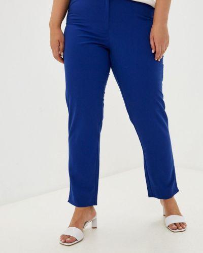 Прямые брюки - синие Prewoman