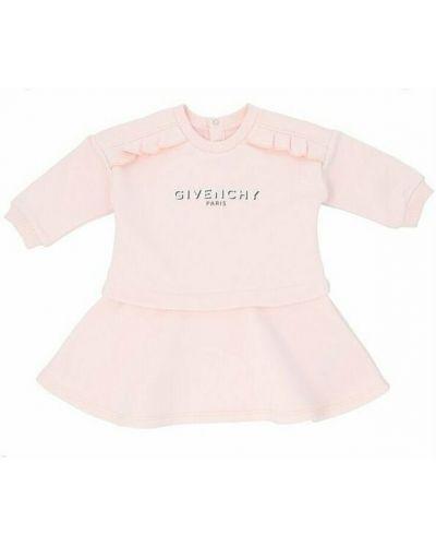 Sukienka boho - różowa Givenchy