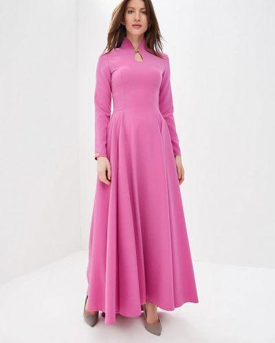 Вечернее платье розовое Royal Elegance