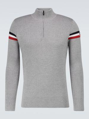 Sweter w paski Fusalp
