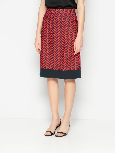 Повседневная юбка - красная Mexx