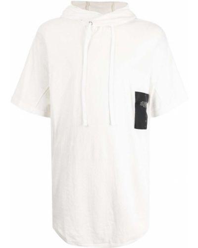 Biała koszulka krótki rękaw Julius