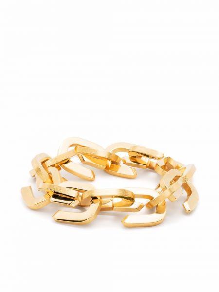 Złota bransoletka Givenchy