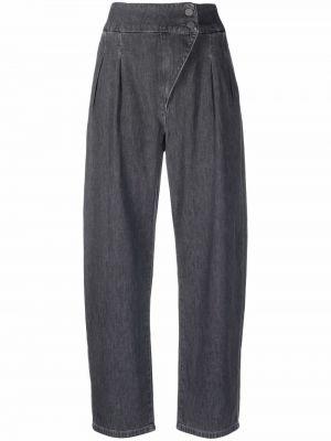 Черные хлопковые брюки Alessia Santi