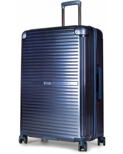Niebieska walizka duża Puccini