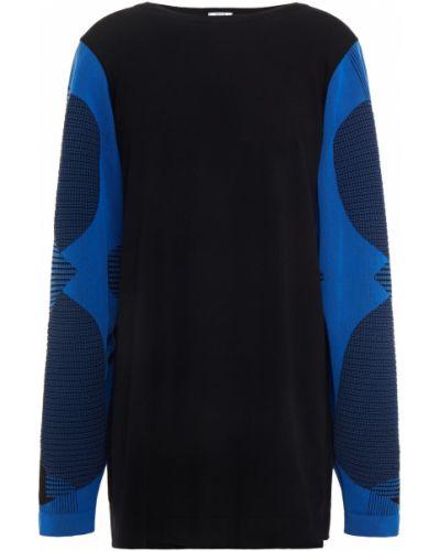 Czarny sweter z wiskozy Wolford