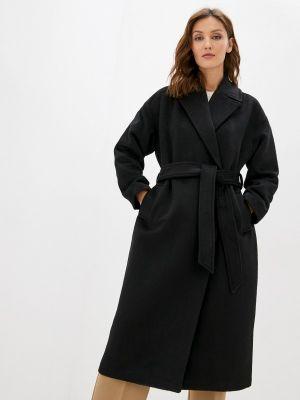 Пальто двубортное - черное Befree