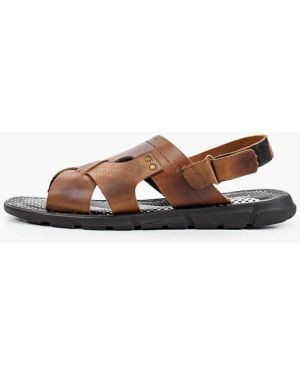 Коричневые сандалии из нубука Nexpero