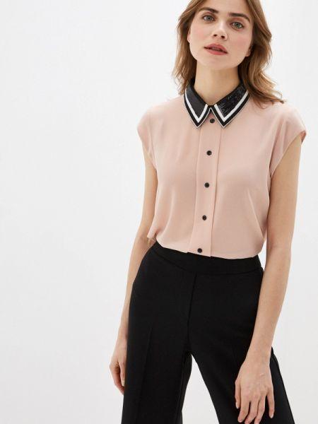 Блузка с коротким рукавом розовая весенний Rinascimento