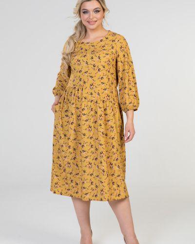 Повседневное платье миди марита